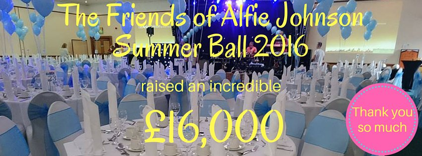 Facebook cover picture for The Friends of Alfie Johnson