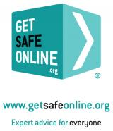 Get Safe Online Logo. Get Safe Online offers expert advice for safe computing and internet use