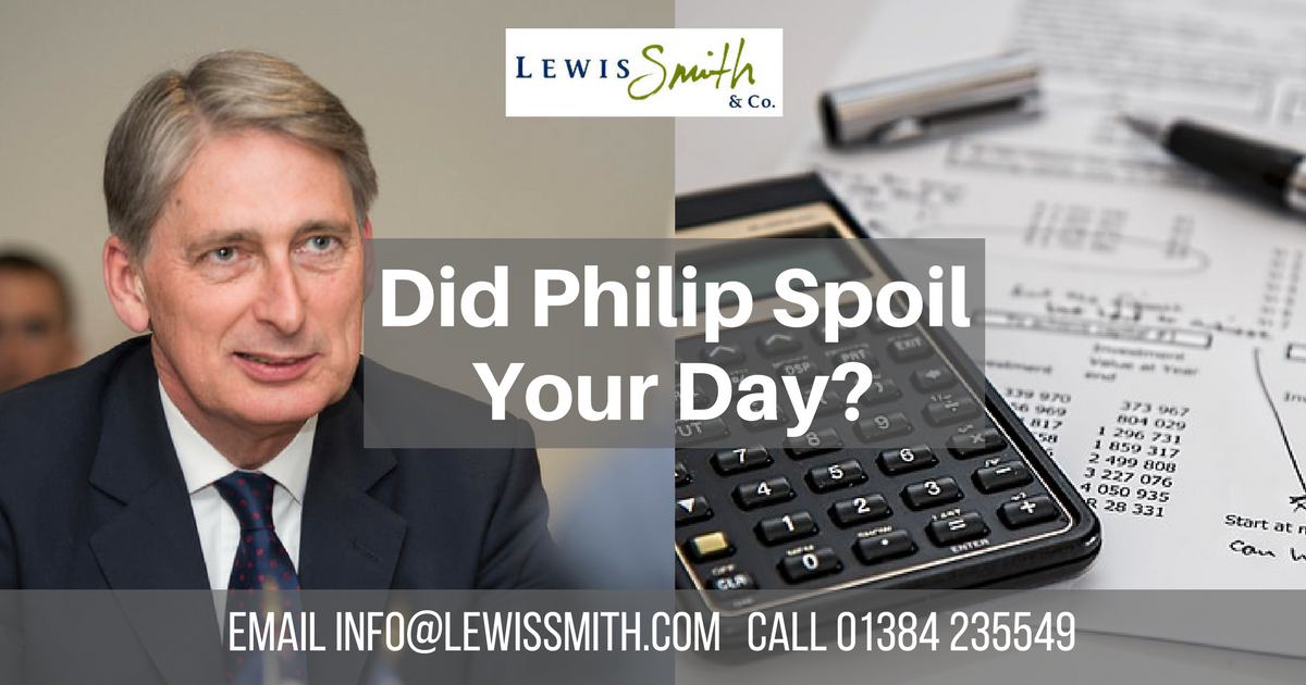 Budget highlights for Dudley Borough small businesses from Lewis Smith & Co.