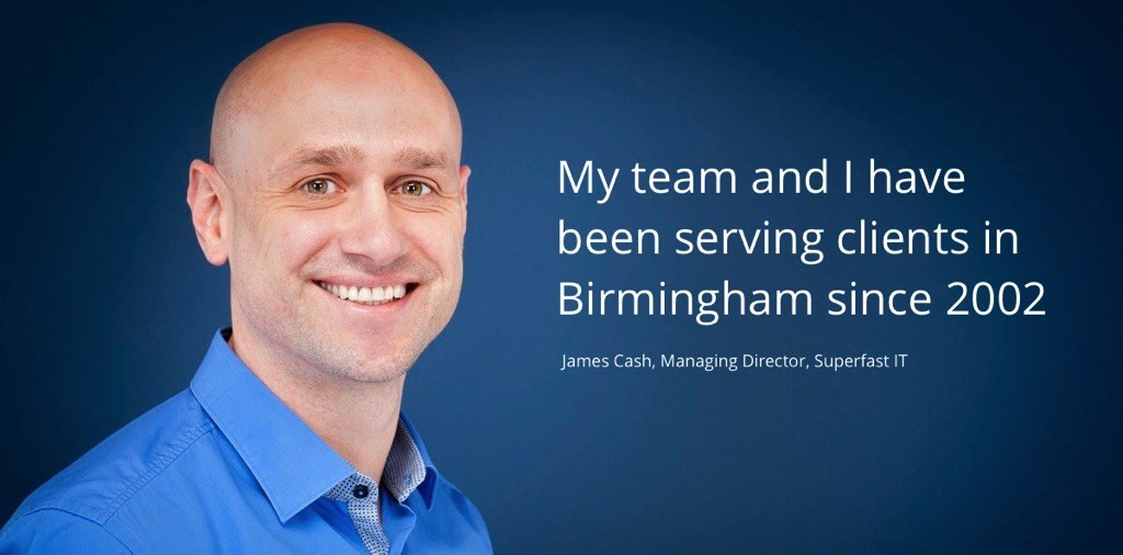 IT Support for Birmingham companies from Superfast-IT