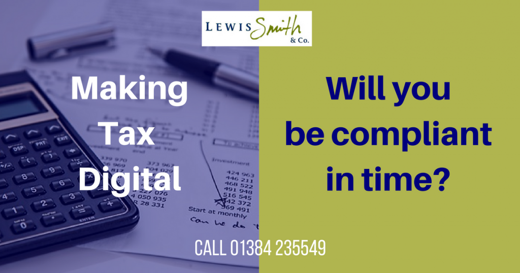 Is your business ready for Making Tax Digital. Will your software cope?