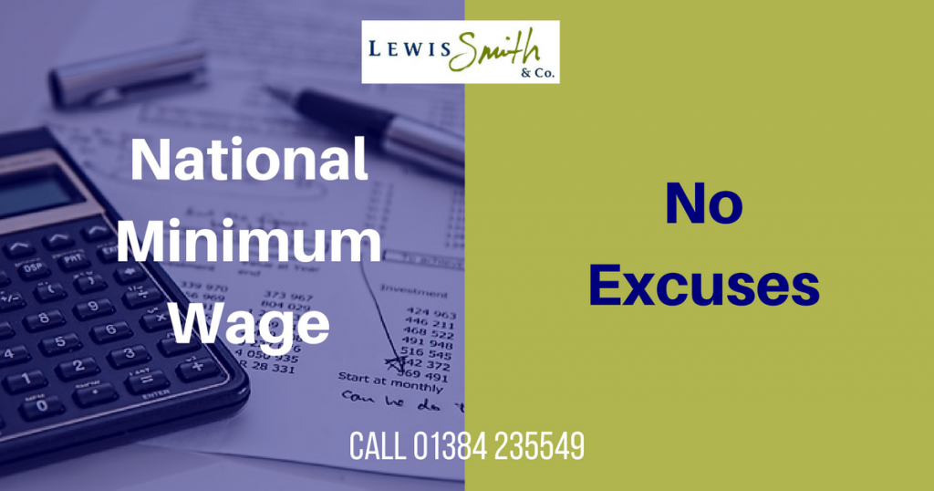 You must pay National Minimum Wage at the appropriate rate