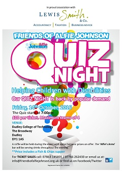 Friends of Alfie Johnson Annual Quiz Night 2016