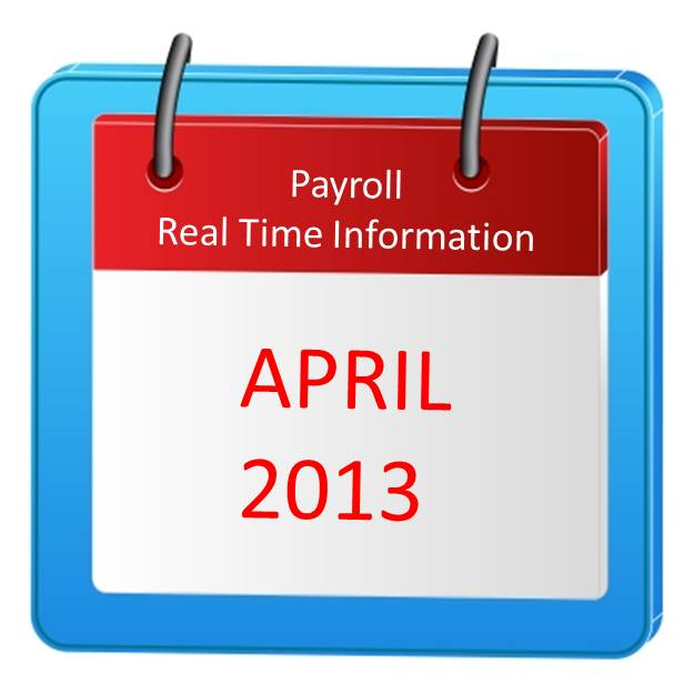 Payroll RTI comes into force in April 2013