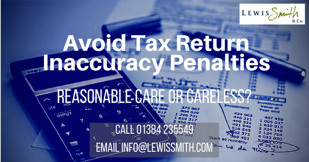 HAve you received a tax return penalty notice